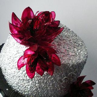 Birthday cake in silver - Cake by Rositsa Lipovanska