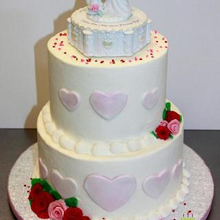 Precious Moments Love Wedding Cake