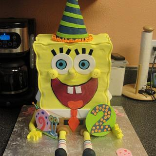Who lives in a pineapple under the sea........