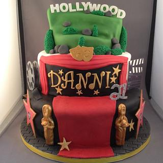 Welcome to Hollywood - Cake by Geoff @ Dobbs Delights