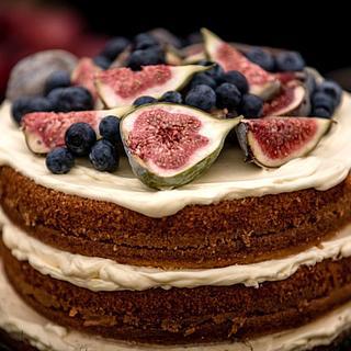 Naked Cake - Cake by Sugarlips Cakes