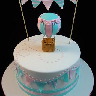 Hot Air Balloon - Cake by Eleanor Heaphy