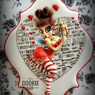 Be my Valentines -- Pinup girl