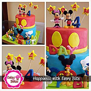 mickey mouse - Cake by cakesbakesshop