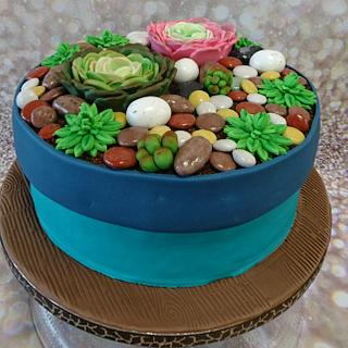 Flower cake - Cake by Stertaarten (Star Cakes)