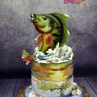 fish cake - Cake by crazycakes