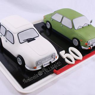 Memories cars Cake - Cake by  Viviana Pellegrino