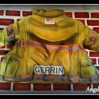 Firefighters Jacket Cake
