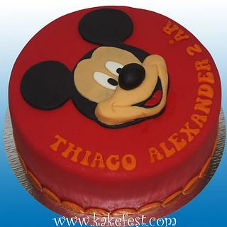 Mickey Mouse cake - Cake by Janne