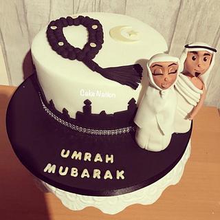 Umrah Mubarak Cake - Cake by Cake Nation