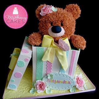 Alejandra's Teddy in a Box