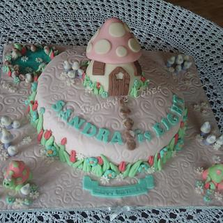 FAIRY LAND. - Cake by MySignatureCakes