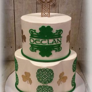 Irish Communion Cake