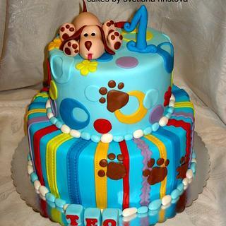 First birthday cake - Cake by Svetlana Hristova