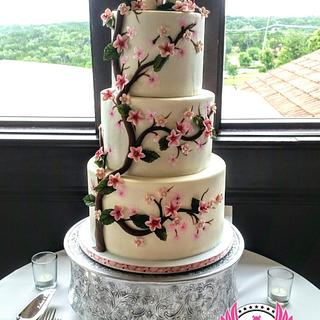 Totoros Cherry Blossom Wedding