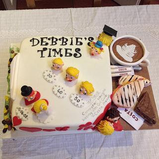 Costa coffee lover - Cake by Debbie