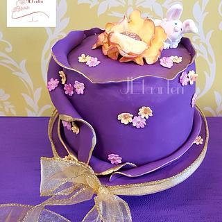 Happy easter cake - Cake by Judith-JEtaarten
