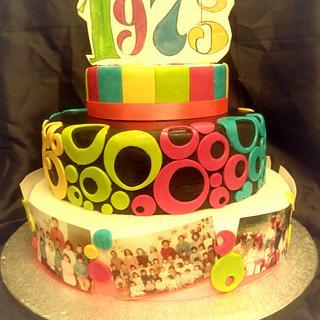 born in 1975 - Cake by La Mimmi