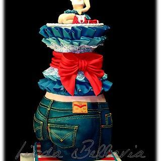 THE CAKE ART OF DENIM