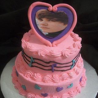Justin Beiber Birthday Cake - Cake by caymancake