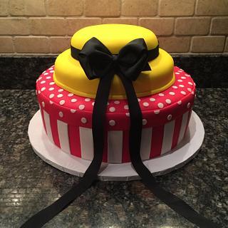 """Madeline"" Baby Shower Cake"