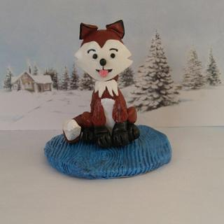 """LITTLE 🦊 FOX - Cake by June (""""Clarky's Cakes"""")"""