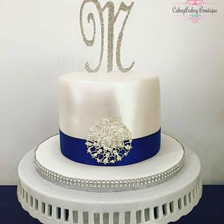 Bling Wedding Cake - Cake by CakeyBakey Boutique