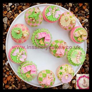 Sugar 'n Spice 'n all things nice Baby Shower Cupcakes!!!