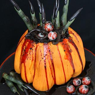 Hansel and Gretel's Halloween Revenge ~ Cake