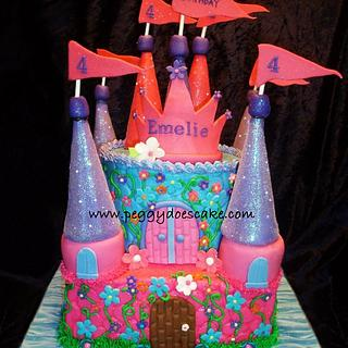 Castle Cake - Cake by Peggy Does Cake