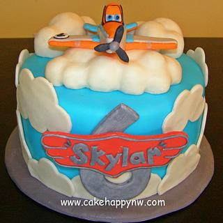 """Planes"" themed Cake"