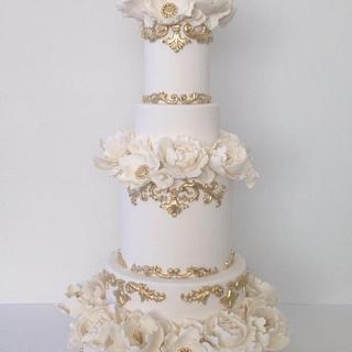 Lux wedding cake
