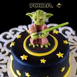 May the Force be with You - Cake by Estro Creativo