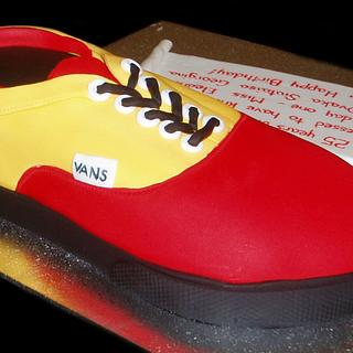 Vans Shoe - Cake by Nada