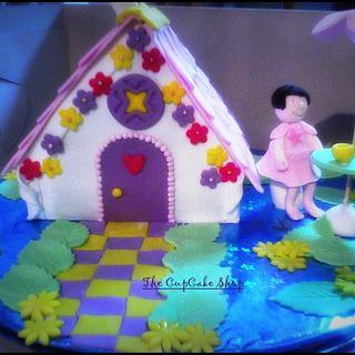 Doll House Cake Tea Party