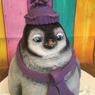 Cute penguin baby ! Squeeeeee !