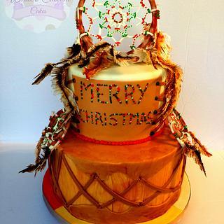 Christmas Dreams - Cake by Sabrina - White's Custom Cakes