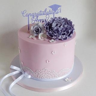 Graduation cake - Cake by Angel Cake Design
