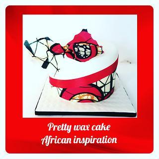 Pretty Wax cake