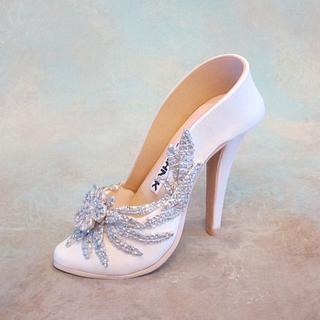 Fondant/gum-paste shoe