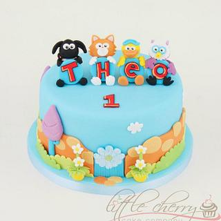Timmy Time Cake - Cake by Little Cherry