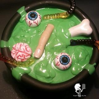 Happy Halloween - Cake by Antonia Lazarova