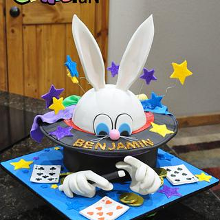 Magicians Birthday Cake - Cake by Cakes For Fun