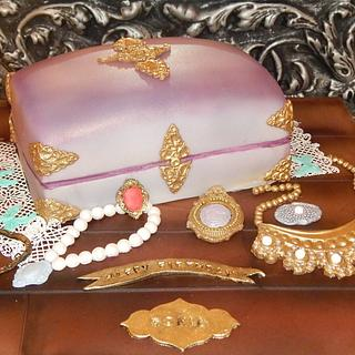 Jewellery Box Cake - Cake by Lilli Oliver Cake Boutique