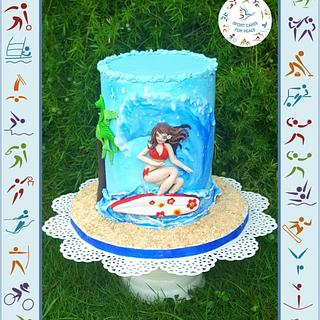 Surfing - Sport Cakes for Peace Collaboration