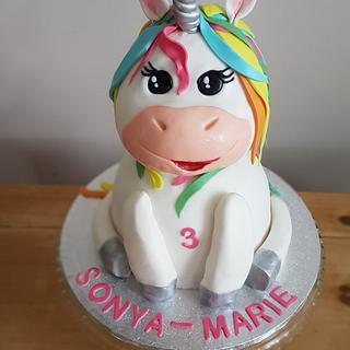 Unicorn Cake - Cake by deephousecakes