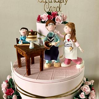 BAKING WITH NANA - Cake by Julie Anne White
