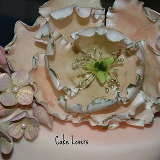 vintage cake details