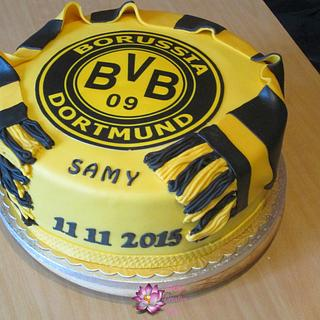 Borussia Dortmund Football team cake