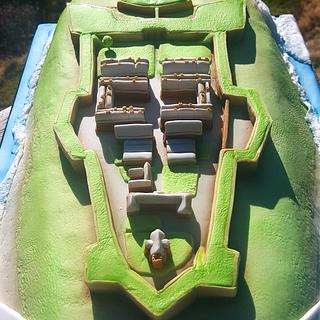 Fort George cake